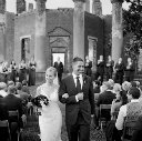 jason keefer photography va charlottesville barboursville vineyeard winery ruins wedding bride groom ceremony