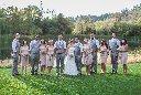 bridal party portrait idea photo