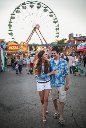 carnival state fair engagement photo shoot