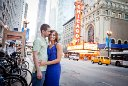 Chicago Theatre Engagement Photography
