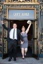 city hall wedding photo