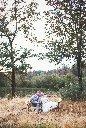 Leaning Tree Lodge wedding photo field