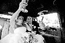 Lodi Wine and Roses Wedding Photography Limo