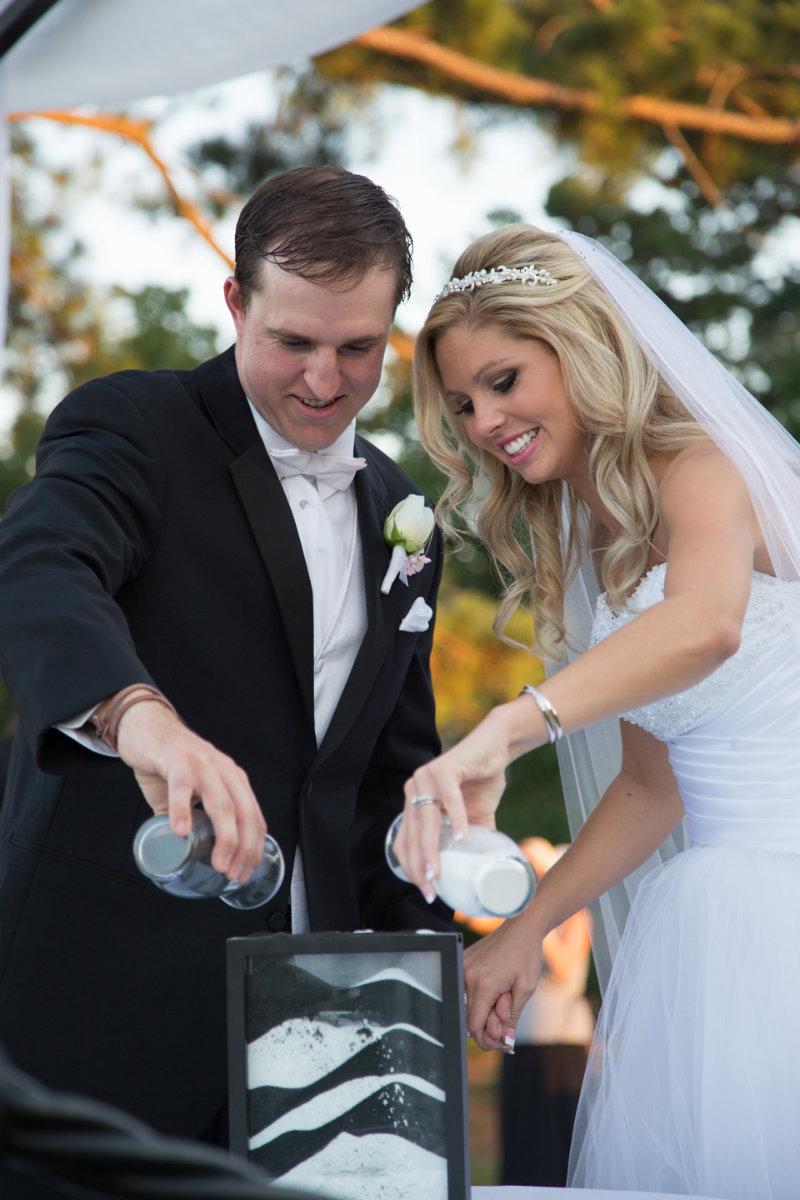Aaron and lindsey wedding